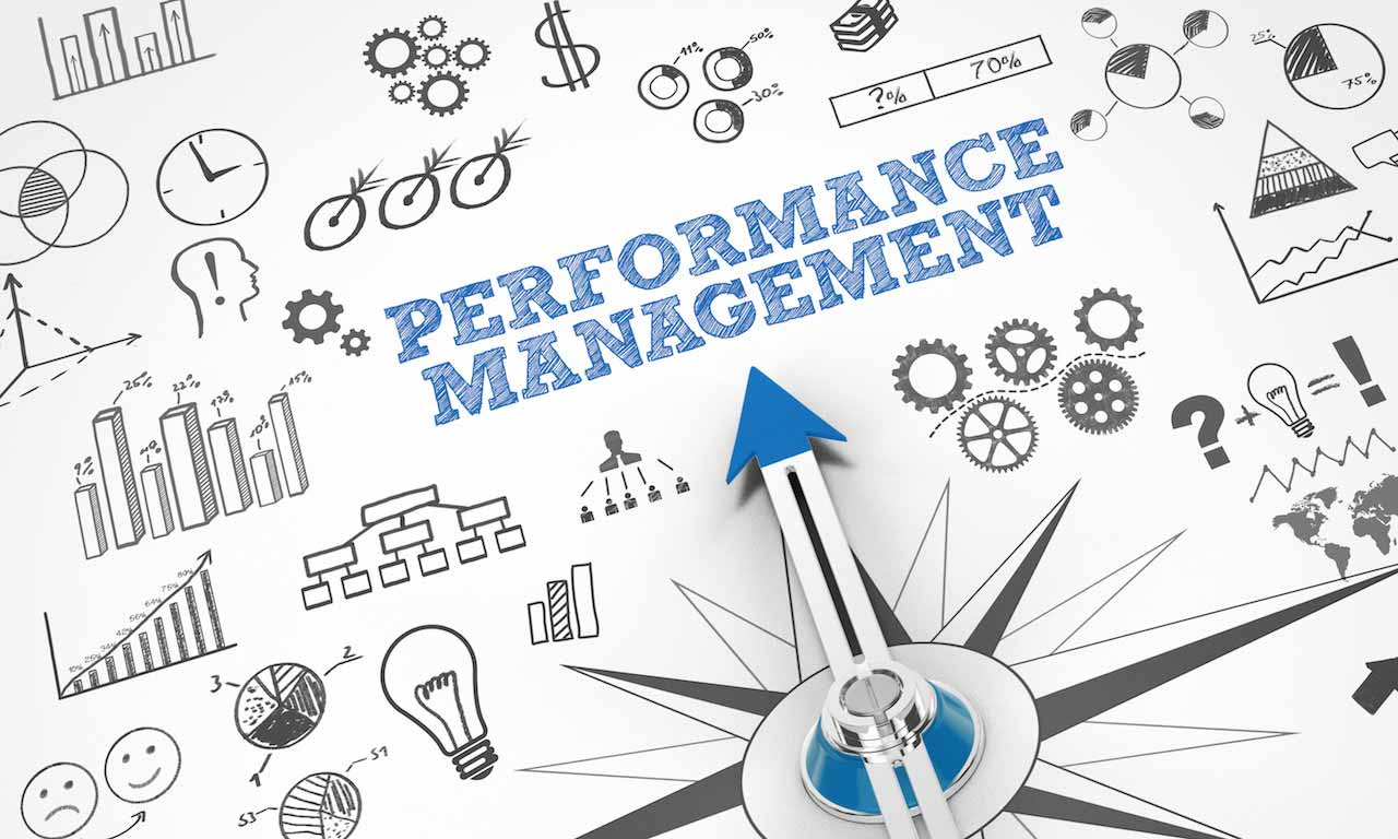 Online training performance management
